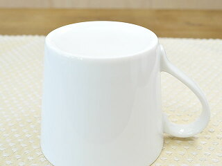 パシオンマグカップ[コーヒーカップティーカップ白い白磁日本製]
