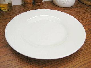 白い食器シーニュ丸皿27cm[プレート/大皿][業務用]