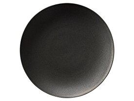 フィノ クリスタルブラック 28cmプレート[ 大皿 黒い食器 KOYO JAPAN 日本製 洋食器 ]