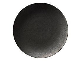 フィノ クリスタルブラック 26cmプレート[ 大皿 黒い食器 KOYO JAPAN 日本製 洋食器 ]