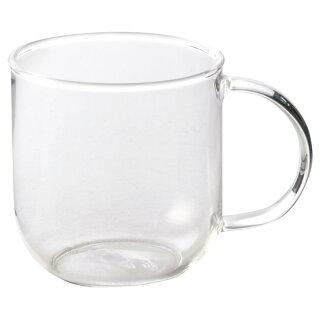 耐熱ガラス320mlマグカップ[軽い軽量アイスホットガラス食器]