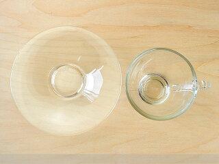 コスモティーカップ&ソーサー[コーヒーカップ碗皿オーシャングラスガラス食器]