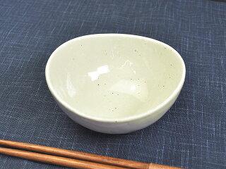 和食器3.5楕円鉢雪粉引[小鉢][価格別食器市]