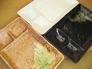和食器トンカツ皿[長角皿/仕切皿][価格別食器市]
