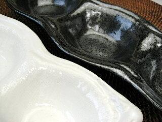 和食器そら豆3品盛皿[3連皿/小鉢][価格別食器市]