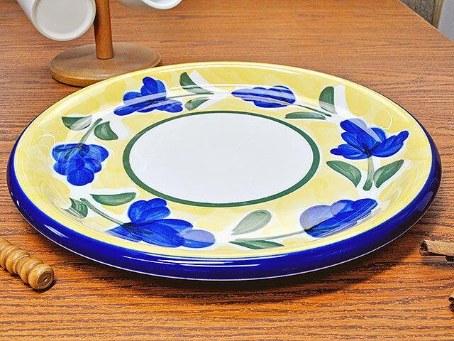 イタリア風食器 カンパーニャ 32cm ピザスパゲティ皿 [ 丸皿 パスタ皿 ピザプレート 30cm以上 大皿 ]