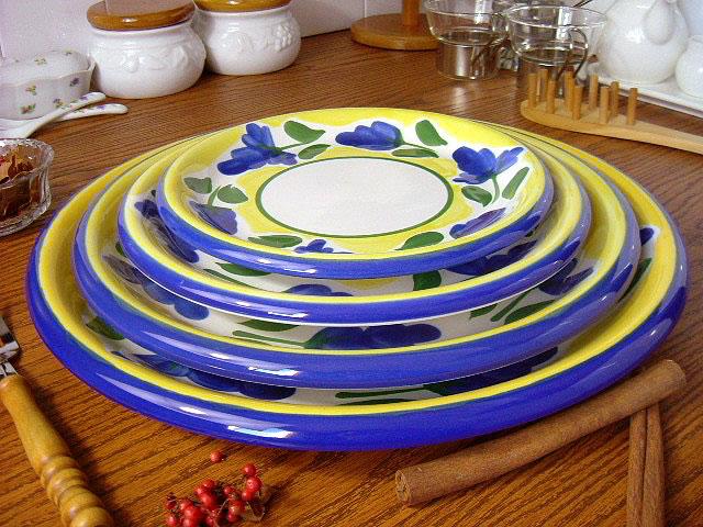 イタリア風食器 カンパーニャ 32cm ピザスパゲティ皿[ 丸皿 パスタ皿 ピザプレート 30cm以上 大皿 ]