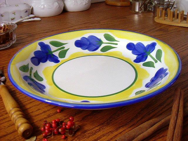 イタリア風食器 カンパーニャ 22cm カレースパゲティボウル[ カレー皿 パスタ皿 シチュー皿 ]