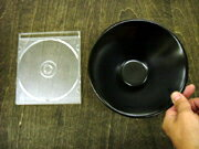アジアン食器パティオマットブラック16.5cmトロンバボール