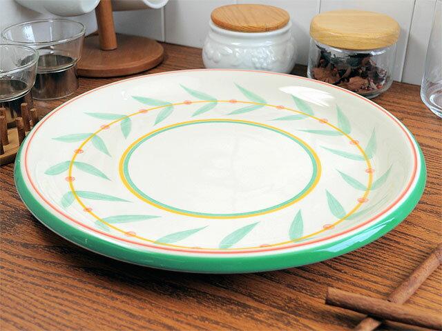 イタリア風食器 ヴェローナ 32cm ピザスパゲティ皿 [ 大皿 丸皿 パスタ皿 ピザプレート ]