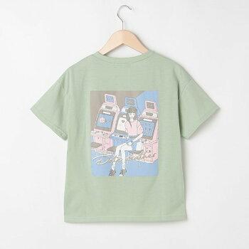 Lovetoxic(ラブトキシック)バックイラスト半袖Tシャツ140cm150cm160cmキッズジュニア