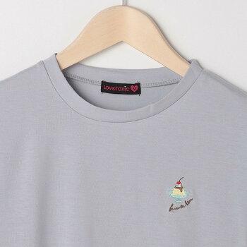 Lovetoxic(ラブトキシック)バックガーリーモチーフ半袖Tシャツ140cm150cm160cmキッズジュニア