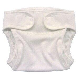 漏れないのに 通気性バツグン【2枚組】布おむつカバー 透湿性素材 外ベルトタイプ 50cm60cm 新生児〜4ヶ月頃 *日本製*