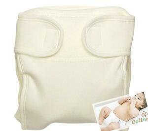 綿100% 布おむつカバー【2枚組】外ベルトタイプ 肌に優しいコットン素材 50cm60cm 新生児〜4ヶ月頃 *日本製*