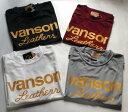 ★緊急入荷・送料無料★VANSON(バンソン)Tシャツ クールファスト素材使用(蒸れ・べたつき防止)■S M L LL 10803S