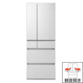 (長期無料保証/配送設置無料)パナソニック 冷蔵庫 NR-F605HPX-W アルベロホワイト 観音開き 内容量:600リットル