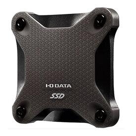 (アウトレット)アイ・オー・データ機器 ポータブルSSD SSPH-UT500K スモーキーブラック SSD:500GB