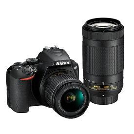 (アウトレット)ニコン 一眼レフカメラ 2本レンズキット(標準ズーム+望遠ズーム) D3500WZ