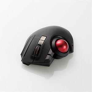 エレコム トラックボールマウス/親指/8ボタン M-XPT1MRBK ブラック