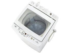 (長期無料保証/配送設置無料)アクア 全自動洗濯機 AQW-GV80J(W) ホワイト 洗濯容量:8.0kg