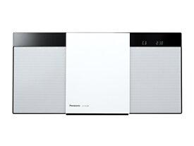 パナソニック コンパクトステレオシステム SC-HC300-W ホワイト
