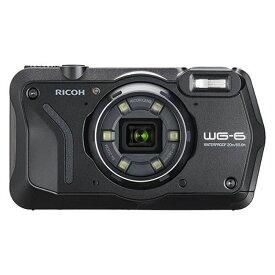 (アウトレット)リコー 防水デジタルカメラ WG-6 ブラック