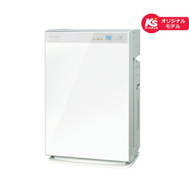 ダイキン 空気清浄機 加湿機能付 MCK70WKS-W ホワイト 適応畳数 空清:主に31畳、加湿:主に18畳【ケーズデンキオリジナルモデル】