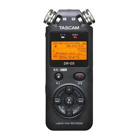 TASCAM リニアPCMレコーダー DR-05 VER3
