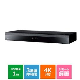 (長期無料保証)パナソニック BDレコーダー(4Kチューナー内蔵/2番組同時録画) DMR-4CW101 HDD:1TB
