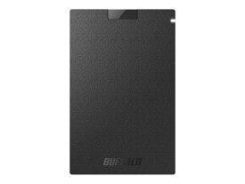 (アウトレット)バッファロー ポータブルSSD SSD-PG480U3-BA ブラック 480GB