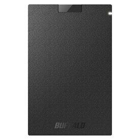 (アウトレット)バッファロー ポータブルSSD SSD-PG960U3-BA ブラック SSD:960GB