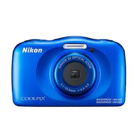 ニコン 防水デジタルカメラ COOLPIX-W150(BL) ブルー
