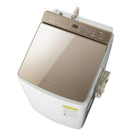 (長期無料保証/配送設置無料)パナソニック たて型洗濯乾燥機 NA-FW90K8-T ブラウン 洗濯/乾燥容量:9.0/4.5kg