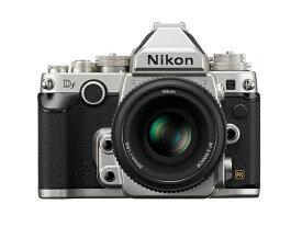 (アウトレット)ニコン 一眼レフカメラ 1本レンズキット(単焦点) DfLK(SL) シルバー