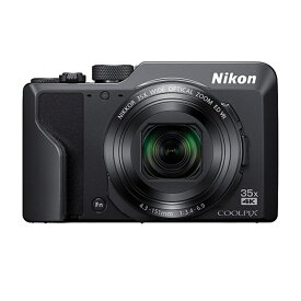 ニコン 高倍率コンパクトカメラ 4K COOLPIX-A1000(BK) ブラック