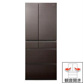 (長期無料保証/配送設置無料)パナソニック 冷蔵庫 NR-F655HPX-T アルベロダークブラウン 観音開き 内容量:650リットル