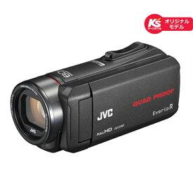 (長期無料保証)JVC 内蔵メモリー32GB GZ-R75K-B ブラック【ケーズデンキオリジナルモデル】