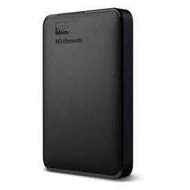 (アウトレット)WESTERN DIGITAL WD Elements Portable HDD 2TB WDBUZG0020BBK-JESN ブラック HDD:2TB