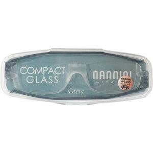 ナンニーニ コンパクトグラス2 1.0 NCG2-1.0-グレー グレー