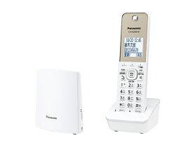 パナソニック 電話機(子機1台付き) VE-GZL40DL-W ホワイト
