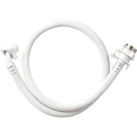 三栄水栓 自動洗濯機給水ホース(1M)(白) PT17-1-1 ホワイト系