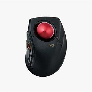 エレコム トラックボールマウス/人差指/8ボタン M-DPT1MRBK ブラック