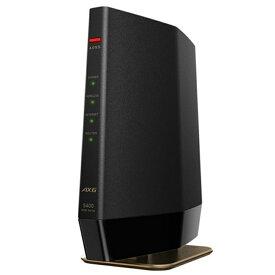 (アウトレット)バッファロー Wi-Fi 6(11ax)対応ルーター WSR-5400AX6-MB マットブラック