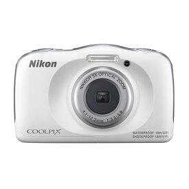 ニコン 防水デジタルカメラ COOLPIX-W150(WH) ホワイト
