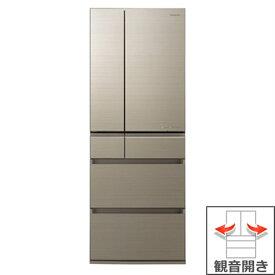 (長期無料保証/配送設置無料)パナソニック 冷蔵庫 NR-F605HPX-N アルベロゴールド 観音開き 内容量:600リットル