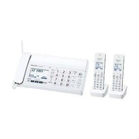 【納期約3週間】Panasonic パナソニック KX-PZ210DW-W デジタルコードレス普通紙FAX(子機2台付き) ホワイト おたっくす KXPZ210DWW