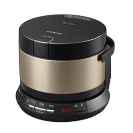 【納期約7〜10日】HITACHI 日立 RZ-BS2M-N IHジャー炊飯器(2合炊き) ブラウンゴールド おひつ御膳 RZBS2MN