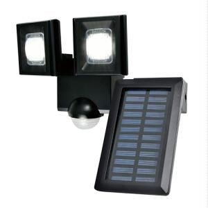 エルパ LEDセンサーライト ソーラー発電式 2灯 ESL-N112SL