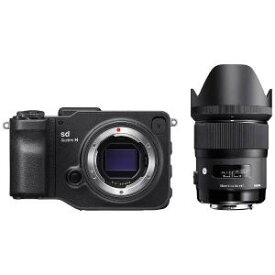 【納期約3週間】◎【代引き不可】SIGMA シグマ SD-QUATTROH-35 ミラーレス一眼カメラ sd Quattro H A 35mm F1.4 DG HSM レンズキット SD QUATTROH 35