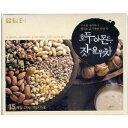 【韓国商店街】ダムト ユルム茶(クルミ・アーモンド) 18g×15本入 3個セット 【コーン茶】【韓国食品】【韓国伝統茶】【韓国商品のお店】